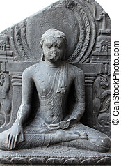 Buddha in Bhumisparsha mudra, from 10th century found in...