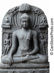 Buddha in Bhumisparsha mudra, from 10th/11th century found...
