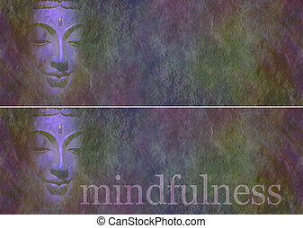 Buddha in shadow website banners