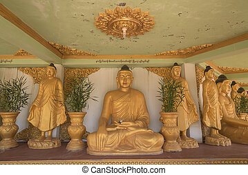 Buddha in the building