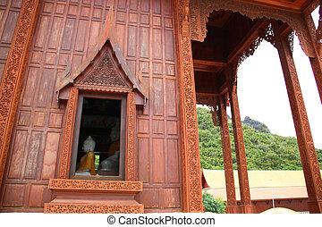 Buddha in the window