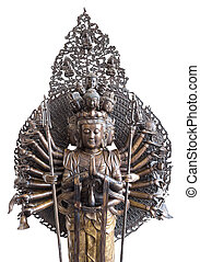 Buddha isolated on white background