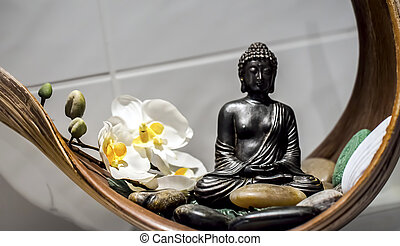 Buddha Sculpture Meditative