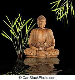 buddha, silencio