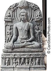 buddha, skulptur
