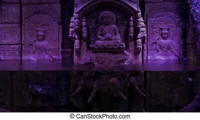 Buddha Statue and Underwater