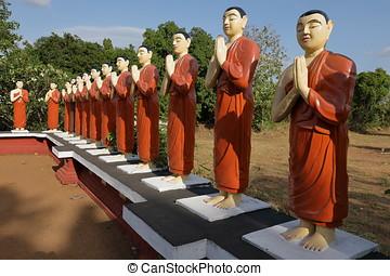 Buddha statue at Sigiriya in Sri Lanka