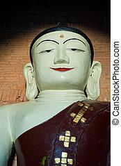 Buddha statue, Bagan, Myanmar