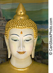 Buddha Statue - Buddha statue at Dhammikarama Burmese Temple...