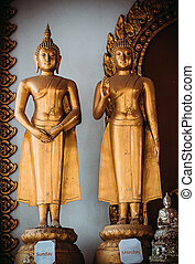 Buddha statue in Samui, Thailand