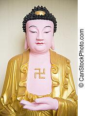 buddha statue kek lok si temple in Penang, Malaysia