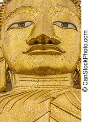 buddha statue  Wat Intharawihan Bangkok thailand
