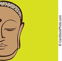 Buddha vector illustration