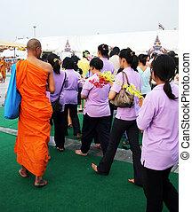 Buddha's birthday in Thailand