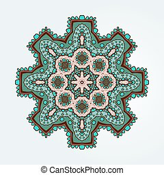 Buddhism multi colored pattern lotus - Buddhist philosophy,...