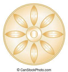 buddhismus, symbol