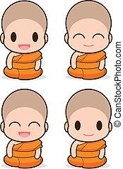 buddhist 修道士