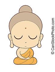 buddhist 修道士, 漫画