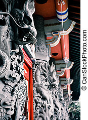 Buddhist dragons