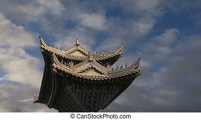 Buddhist pagoda-- Xian - Ancient Pagoda-- Buddhist pagoda...