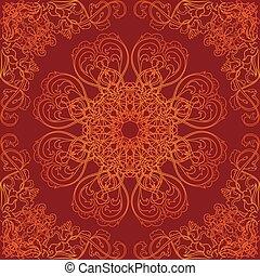 Buddhist seamless thai pattern vect