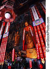 Buddhist Statue Jade Buddha Temple Jufo Si Shanghai China