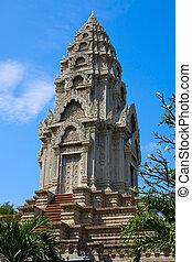 Buddhist temple in Cambodia .