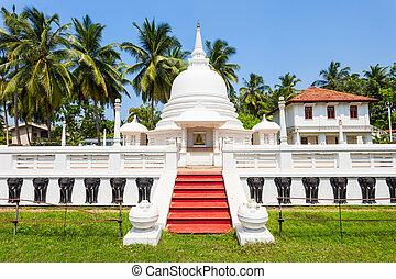 Buddhist Temple in Negombo - Abhayasekararama Temple is a...