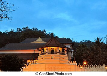 Buddhist Temple of the Tooth, Kandy, Sri Lanka