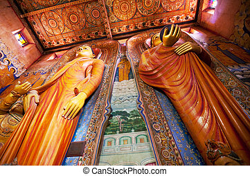 Buddhist temple on Sri Lanka