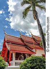 Buddhist temple Thailand