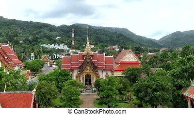 Buddhist temple Wat Chalong
