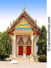 buddhistischer tempel, phuket, thailand