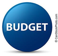 Budget blue round button