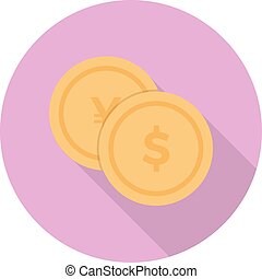 budget board vector colour flat icon