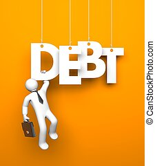 Budget. Business metaphor. Conceptual image