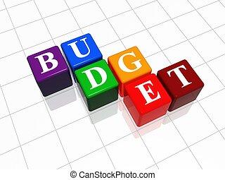 budget - colro cubes