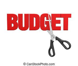 Budget Cuts Concept