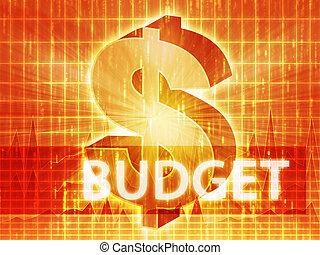 Budget Finance illustration