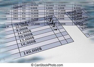 budget, finanza, calcolare
