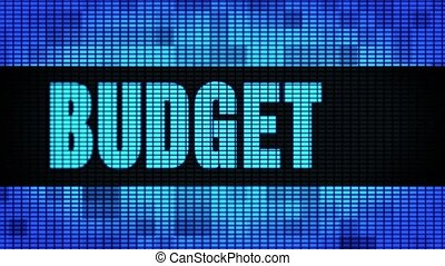 Budget Front Text Scrolling LED Wall Pannel Display Sign...