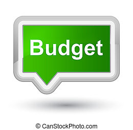 Budget prime green banner button
