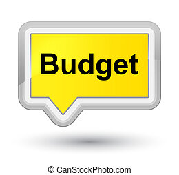 Budget prime yellow banner button