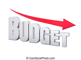 Budget Reduction Concept