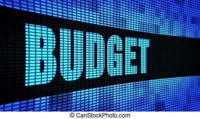 Budget Side Text Scrolling LED Wall Pannel Display Sign...