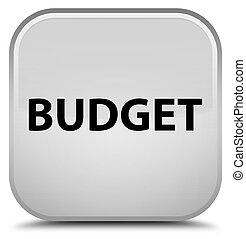 Budget special white square button