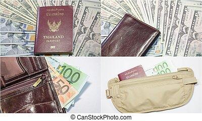 Budget travel concept