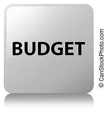 Budget white square button
