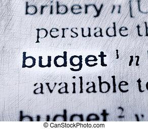 Budget word