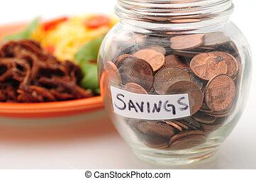 Budgeting to save money on food